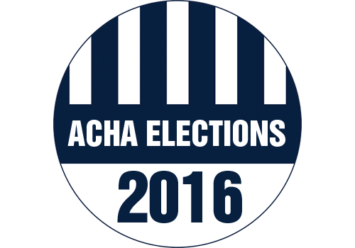 Candidates announced for 2016 ACHA elections
